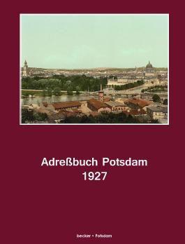 Adreßbuch Potsdam für 1927