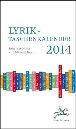 Lyrik-Taschenkalender 2014