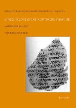 Einführung in die koptische Sprache