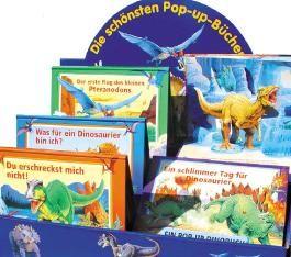 Dinosaurier Pop-up-Bücher