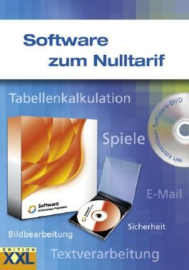 Software zum Nulltarif, m. DVD-ROM