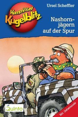 Kommissar Kugelblitz 16. Nashornjägern auf der Spur: Kommissar Kugelblitz Ratekrimis