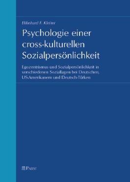 Psychologie einer cross-kulturellen Sozialpersönlichkeit