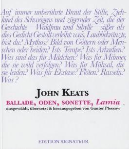 JOHN KEATS - Ballade, Oden, Sonette, LAMIA