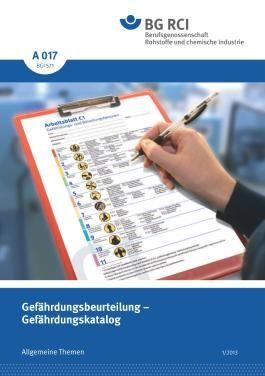 A 017 - Gefährdungsbeurteilung - Gefährdungskatalog