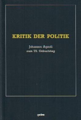 Kritik der Politik