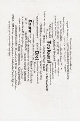 testcard #3: Sound