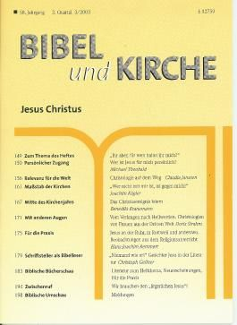 Bibel und Kirche / Jesus Christus