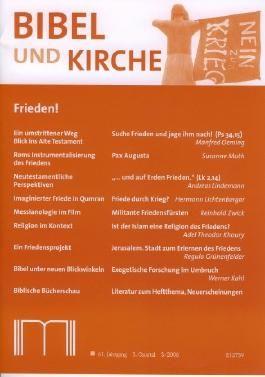 Bibel und Kirche / Frieden!