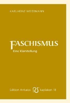 Faschismus: Eine Klarstellung