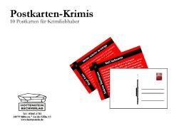 Postkartenkrimis aus Elze
