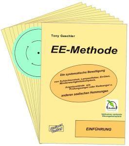 EE-METHODE. Die systematische Beseitigung von Schüchternheit, Lampenfieber, Erröten, Minderwertigkeitskomplexe, Angstzustände wie Prüfungsangst oder Redeangst und anderen seelischen Hemmungen.