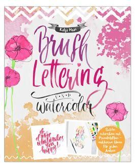 Brushlettering & Watercolor