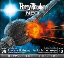 Perry Rhodan NEO MP3 Doppel-CD Folgen 09 + 10