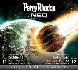 Perry Rhodan NEO MP3 Doppel-CD Folgen 11 + 12