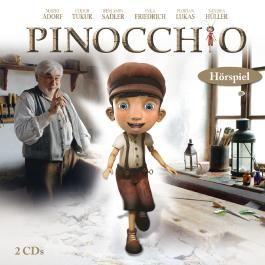 Pinocchio Hörspiel, 2 CDs