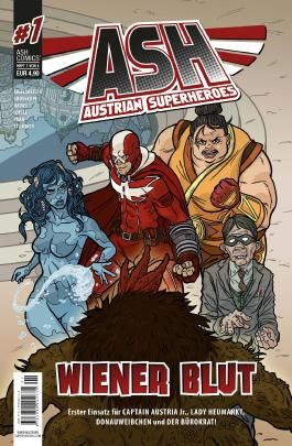 Austrian Superheroes #1