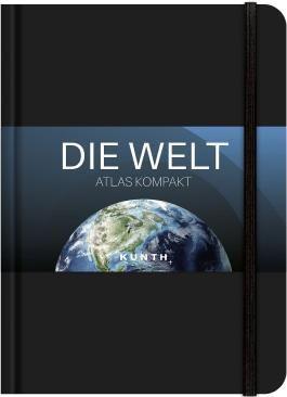 Taschenatlas Die Welt - Atlas kompakt, schwarz