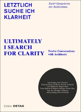 Letztlich suche ich Klarheit/Ultimately I search for clarity