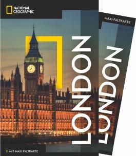 NATIONAL GEOGRAPHIC Reiseführer London mit Maxi-Faltkarte
