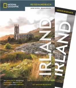 National Geographic Reiseführer Irland: Mit Karte, Sehenswürdigkeiten und Geheimtipps von Irland wie Waterford, Ring of Kerry und Cliffs of Moher, Connemara, Dublin und Belfast.