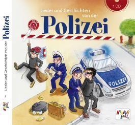 Lieder und Geschichten von der Polizei – CD