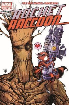 Rocket Raccoon - Quer durch die Galaxie und dann links