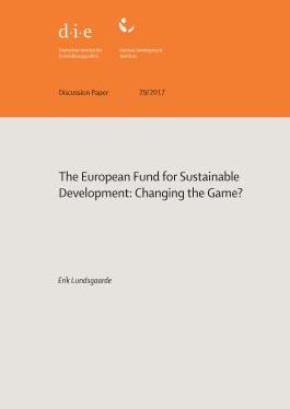 The European Fund for Sustainable Development