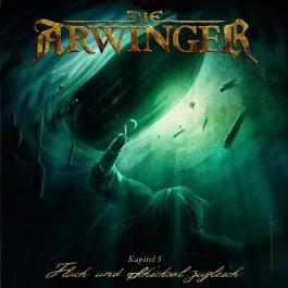 """Die Arwinger Kapitel 5 Fluch und Schicksal zugleich. Inkl.Bonus CD """" Die Musik der Hörspiel-Reihe"""""""