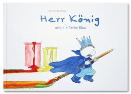 Herr König und die Farbe Blau