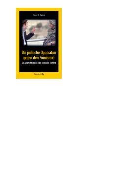 Die jüdische Opposition gegen den Zionismus