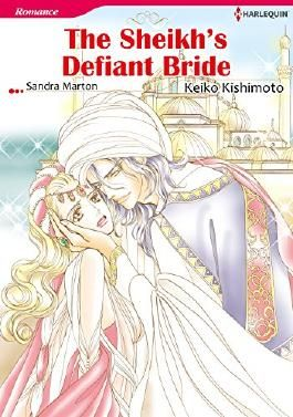 THE SHEIKH'S DEFIANT BRIDE (Harlequin comics)