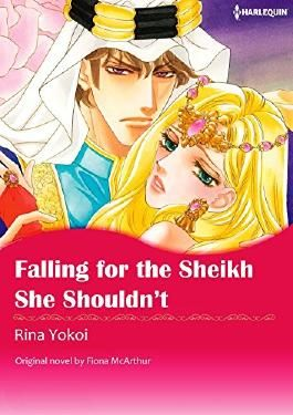 FALLING FOR THE SHEIKH SHE SHOULDN'T (Harlequin comics)