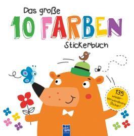 Das große 10 Farben Stickerbuch