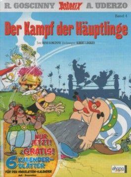 """Asterix - Der Kampf der Häuptlinge - Band Nr. 4 - Mit dem Extra """"Der Hinkelsteinkalender 2013"""" *MMXIII* Teil 2 (von 2) - Zum Aufhängen und zum Aufstellen"""
