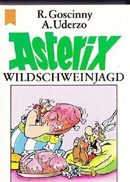 Asterix. Wildschweinjagd. Nr. 33/73. Originalausgabe. (Kleinstausgabe, ca. 5,8x8,1cm).