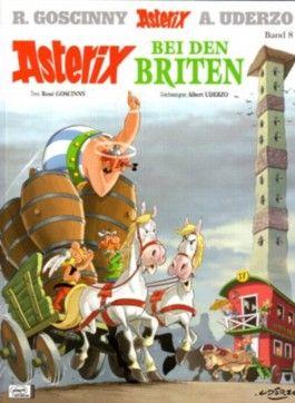 Asterix und Obelix Comic Album # 8 - Asterix bei den Briten von Albert Uderzo