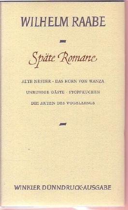 Späte Romane