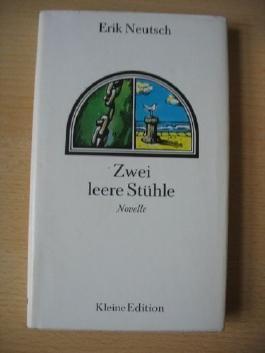 """Zwei leere Stühle. Novelle. Reihe """"Kleine Edition""""."""