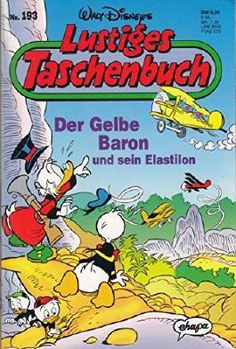 LTB Nr. 193 - Der Gelbe Baron und sein Elastilon  Lustiges Taschenbuch