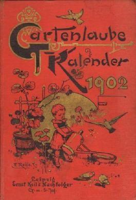 Gartenlaube. Kalender für das Jahr 1902.
