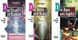 Elenium-Trilogie: Der Thron im Diamant / Der Ritter vom Rubin / Die Rose aus Saphir