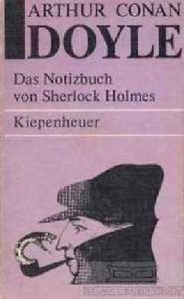 Das Notizbuch von Sherlock Holmes.