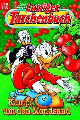 Lustiges Taschenbuch LTB Nr. 135 - Kampf um den Mondsand  Walt Disneys