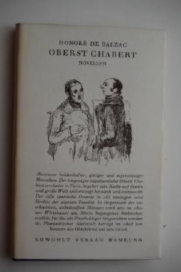 Oberst Chabert. Novellen.