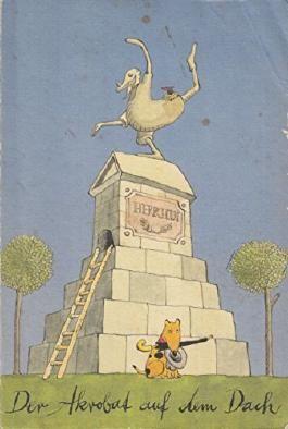 Der Akrobat auf dem Dach