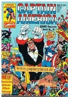 Captain America Comic Taschenbuch 16 (mit Namor the Submariner) Condor Marvel Comics