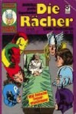 Die Rächer Comic-Taschenbuch 21, Condor Marvel Comics . Condor präsentiert: Marvels große Superhelden .