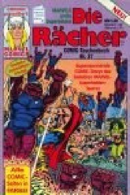 Die Rächer Comic-Taschenbuch 37, mit Iron-Man, Condor Marvel Comics .