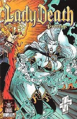 Lady Death Prestige 1, Die Feuerprobe, Teil 1 von 3. Chaos ! Comics, Jan 1999, Prestigeformat
